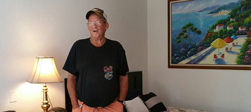 Maxwell Garden resident Allen found permanent supportive affordable housing at Pathlight HOME