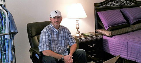 Craig experienced anxiety and bipolar disorder and homelessness in Orlando before moving in at Pathlight HOME