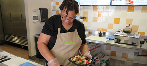 Barbara enrolled in the Pathlight Kitchen Culinary Training Program and became the manager of Sobik's Subs Cafe on Orange Blossom Trail Orlando