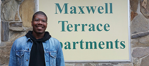 Maxwell Terrace Resident Kenneth found stable low-income housing in Orlando to help him get back on his feet