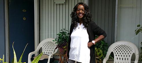 Fomerly homeless in Orlando, Deborah now lives at Pathlight HOME