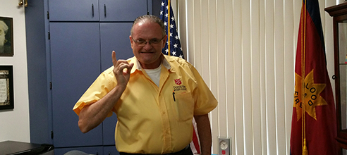 Salvation Army Sergeant-Major and former Pathlight HOME resident Brian S.