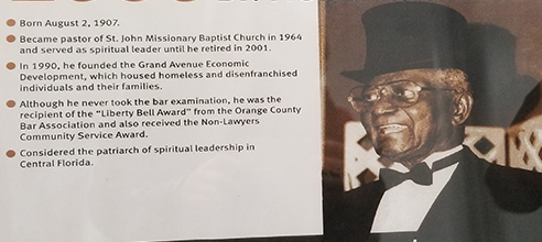 Reverend Fred Maxwell co-founded Pathlight HOME in 1990 to serve the homeless in Orlando
