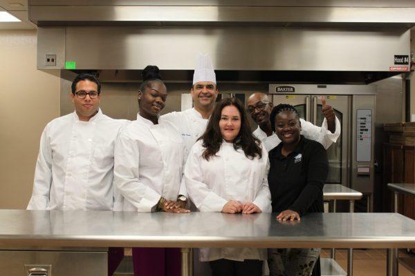 Graduates from the Pathlight Kitchen Culinary Program