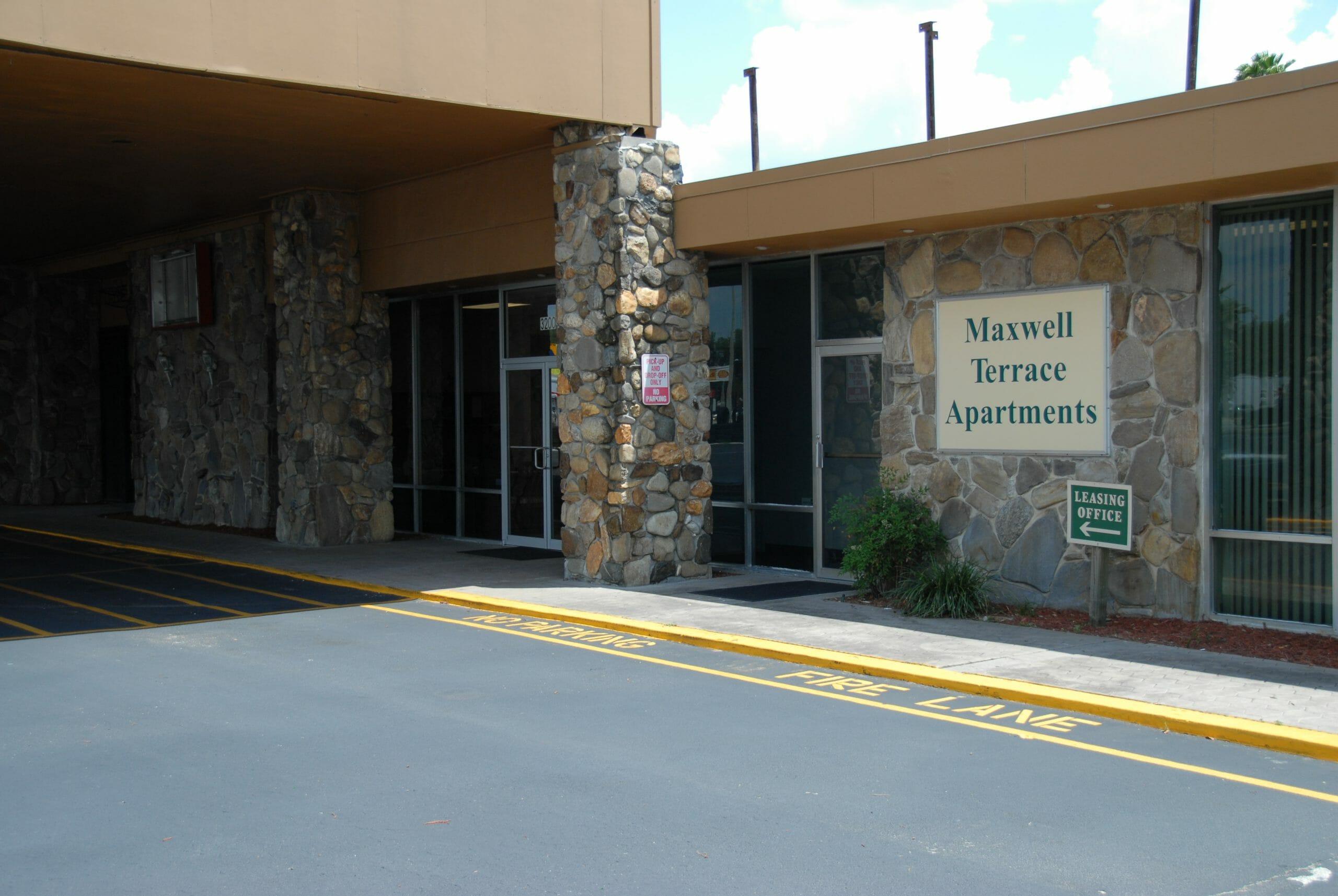 Exterior of Maxwell Terrace Apartments