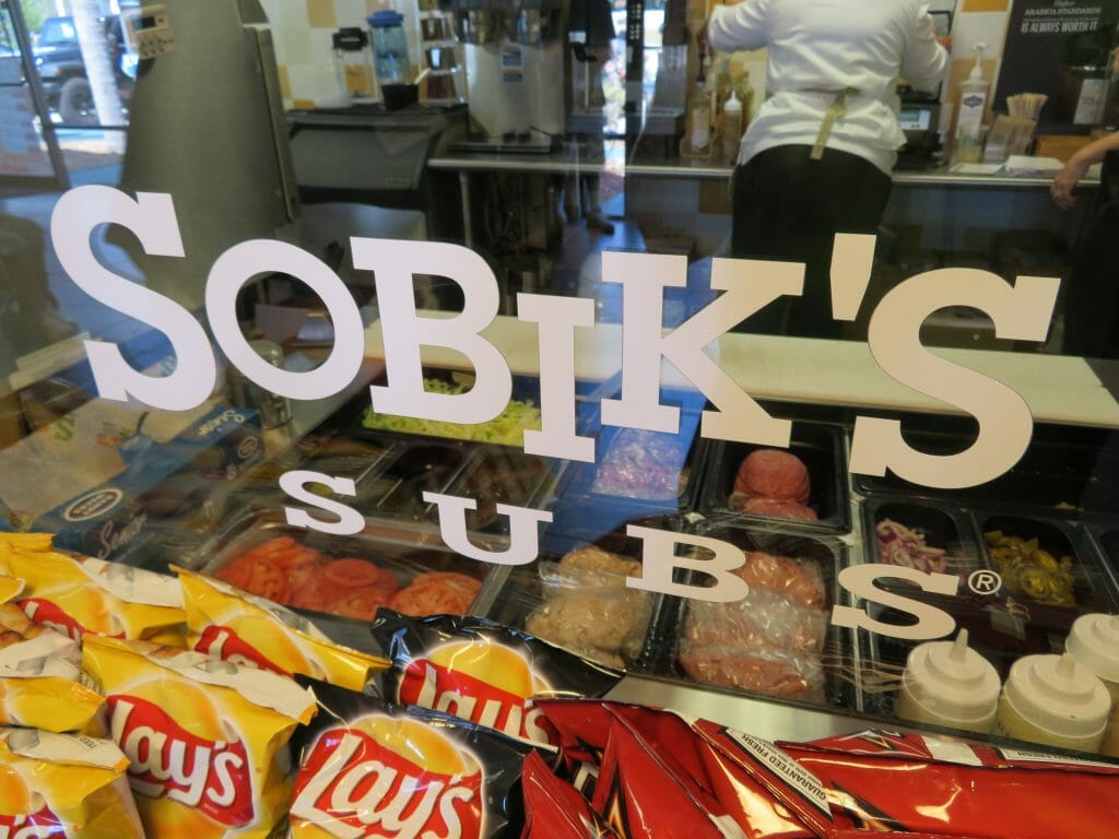 Sobik's Subs Cafe serves sandwiches and salads on Orange Blossom Trail in Orlando