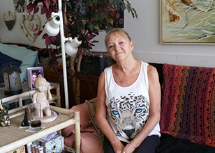 Tinker was homeless in Orlando and found permanent supportive housing at Pathlight HOME